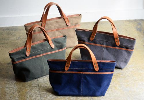 Roberu Washed Canvas Hand Bag