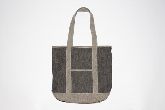 Luaus Washed Denim Tote Bag