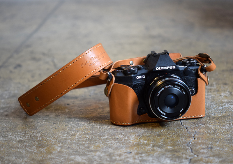 OM-D E-M5 Mark2 Holder and Strap