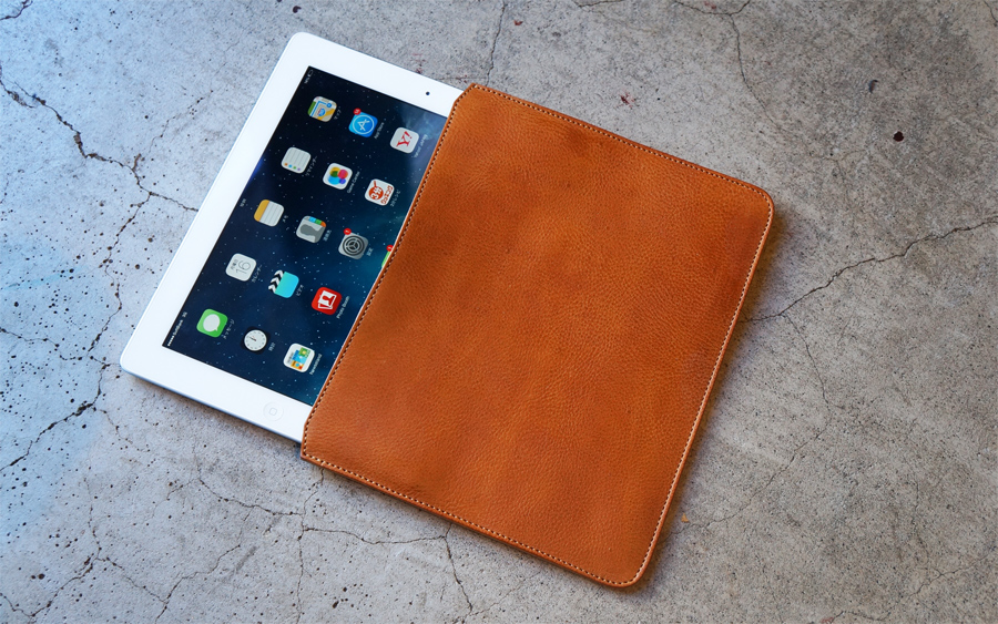 Roberu iPad Leather Case
