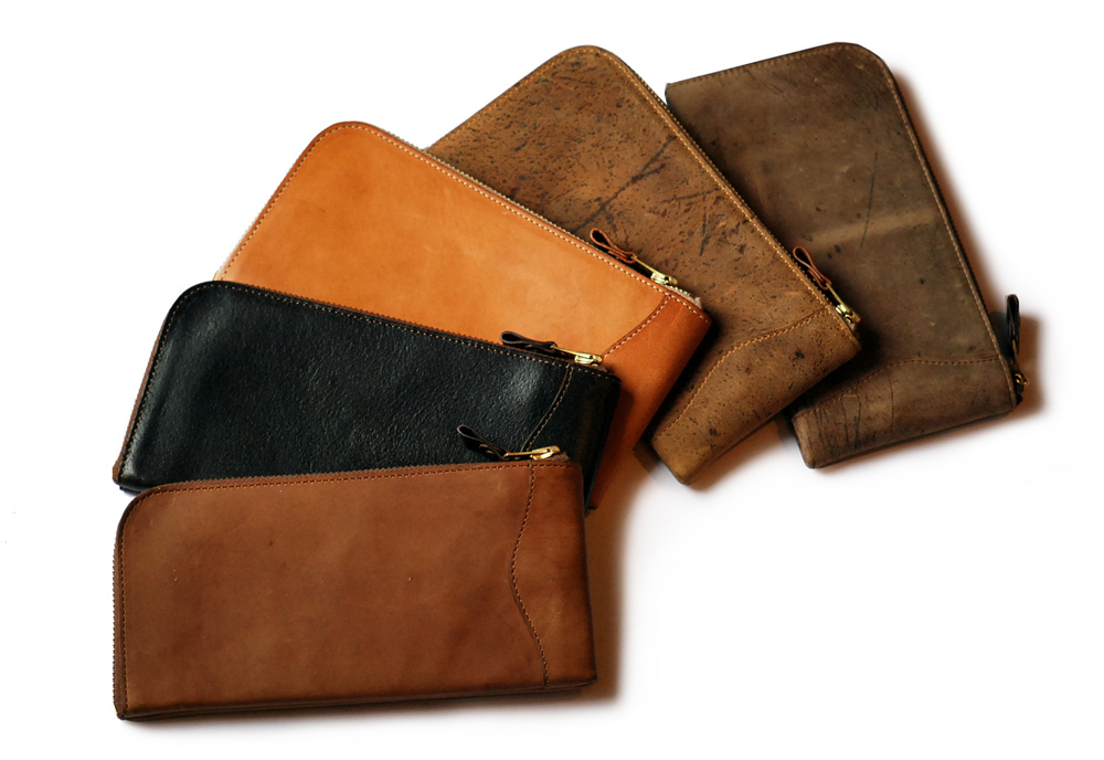 Anchor Bridge Long Zip Wallet